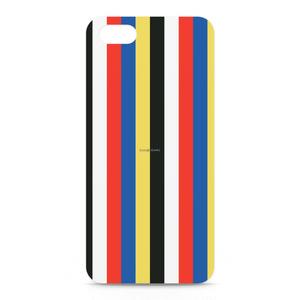 五色iPhoneケース(ストライプ)
