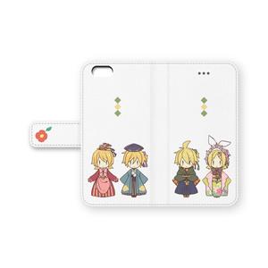 リンレン手帳型iPhoneケース