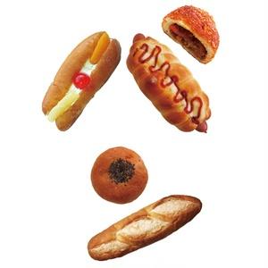 パンのパン文字トートバック