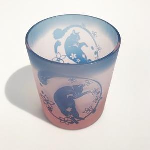 【春季限定】桜舞猫/仄桜+薄藍