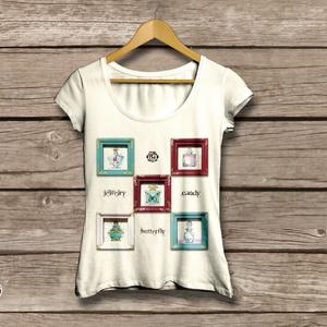 パフュームTシャツ(ナチュラル)