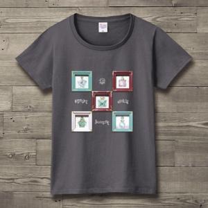 パフュームTシャツ(チャコール)