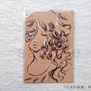 ドローイング【原画】真夜中の仮面舞踏会