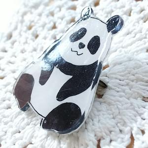 パンダさんブローチ