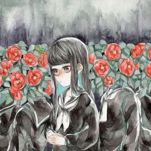 『高嶺の花』原画(B5サイズ)