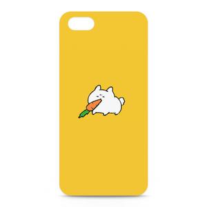 おでぶうさちゃんiPhoneケース-YELLOW-