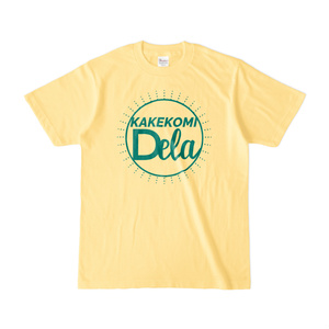 KAKEKOMIDELA(ライトイエローTシャツ)