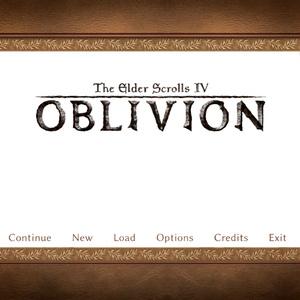 TES4 OBLIVIONタイトル画像コラセット(psd/png)