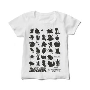 【パロコラ公式】白Tシャツ(レディース)【暦-REKi-様 ver.】