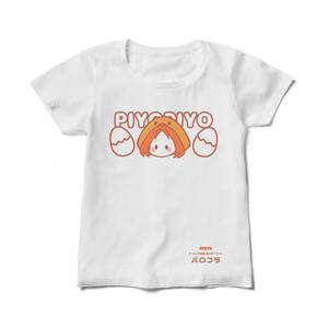【パロコラ公式】白Tシャツ(レディース)【玲央(れお)様 ver.】