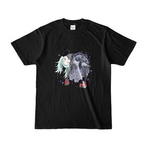 ビブリーTシャツ(黒)
