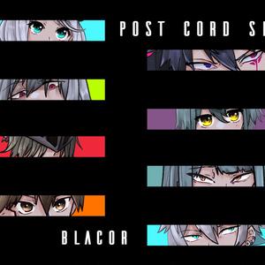 BLACOR POSTCORD SET