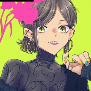 Girloly キャンバスアートF6