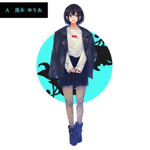 Girloly キャンバスアート200正方