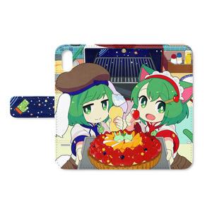 手帳型iPhone X/Xs ケース【Delicious Solaris】