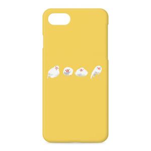 ブンチョウズiPhoneケース(イエロー)