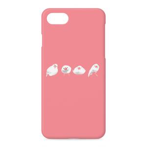 ブンチョウズiPhoneケース(ピンク)