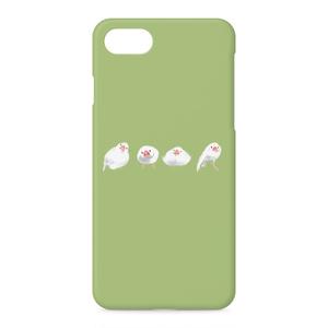 ブンチョウズiPhoneケース(グリーン)