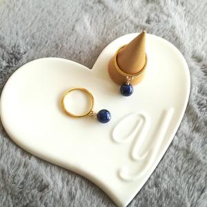 天然石Ring(ラピスラズリ)