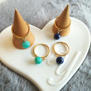 天然石Ring(アマゾナイト)