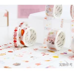 【食べ物シリーズ①】マスキングテープ 8 巻きセット