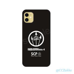 【SCP機動部隊】第1弾11種 強化ガラス iPhoneケース