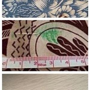 [ゆかたセット]水色の綿紅梅&更紗風半幅帯