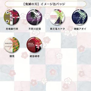 【鬼滅の刃】イメージ缶バッジ