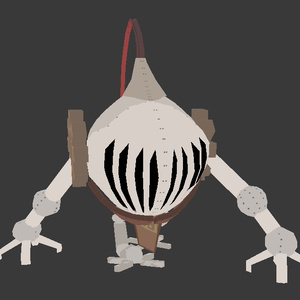 【オリジナル 3Dモデル】アーマーゴーレム