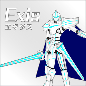 【VRChat想定モデル】Exis エクシス