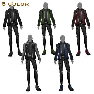 【VRoid texture 16 +VRM】サイバーミリタリー 第3弾
