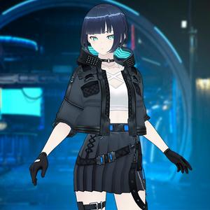 【VRoid texture 30 +VRM】サイバーパンク2