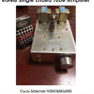 6GM8 Single Ended Tube Amplifier