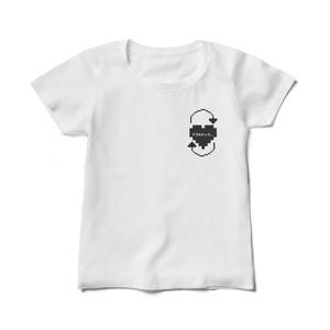 ドウキチュウ...レディース白Tシャツ