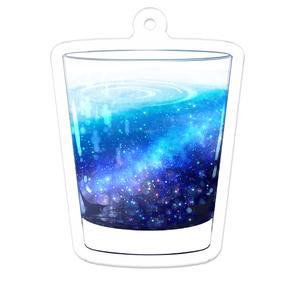 銀河ジュース アクリルキーホルダー