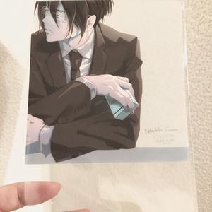 宜野座さん 透明ポストカード