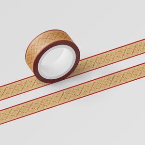 マスキングテープ 赤