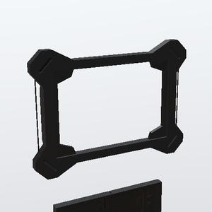3Dモデル サイバー眼帯 開閉ギミック付き!