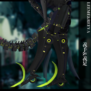 3Dモデル サイバー衣装 LEEMEREEVA