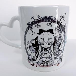 [受注生産] ジト目マグカップ [アリスシリーズ・グッズ]
