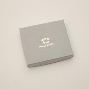 カニのメッセージカードボックス