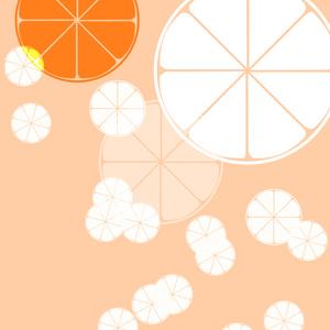 【画像素材】オレンジ