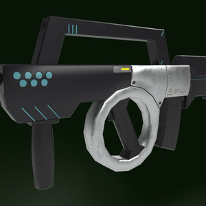 Energy Bullpup Rifle(エネルギー弾式ブルパップライフル)