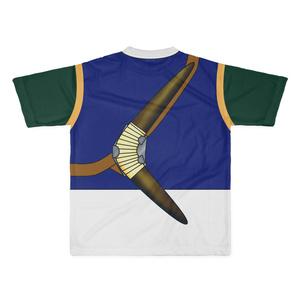 なんちゃってRPG 狩人Tシャツ(紺/緑)Lサイズ