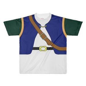 なんちゃってRPG 狩人Tシャツ(紺/緑)ⅩLサイズ
