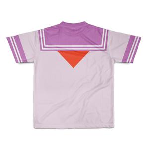 SサイズなんちゃってKIKIYOU'Sセーラー服_桃ピンク赤ネクTシャツ