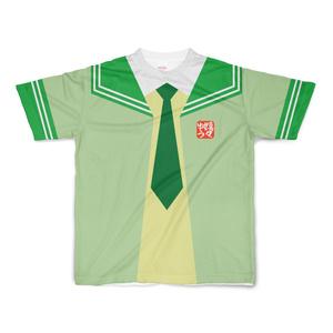 SサイズなんちゃってKIKIYOU'Sセーラー風ジャケット黄緑+緑緑ネク_Tシャツ