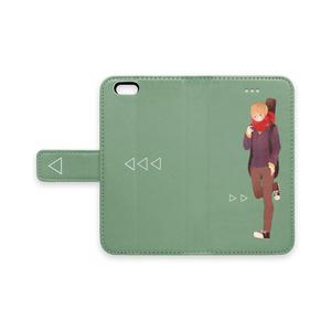 手帳型iPhoneケース 男の子