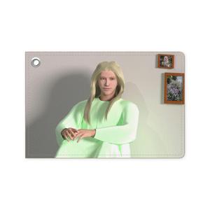 大天使ラファエル/壁を背に座るパスケース