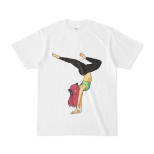 アームバランス 白Tシャツ